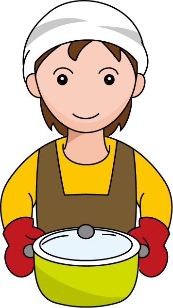 Free cooking cliparts download. Mother clipart mother cooks food