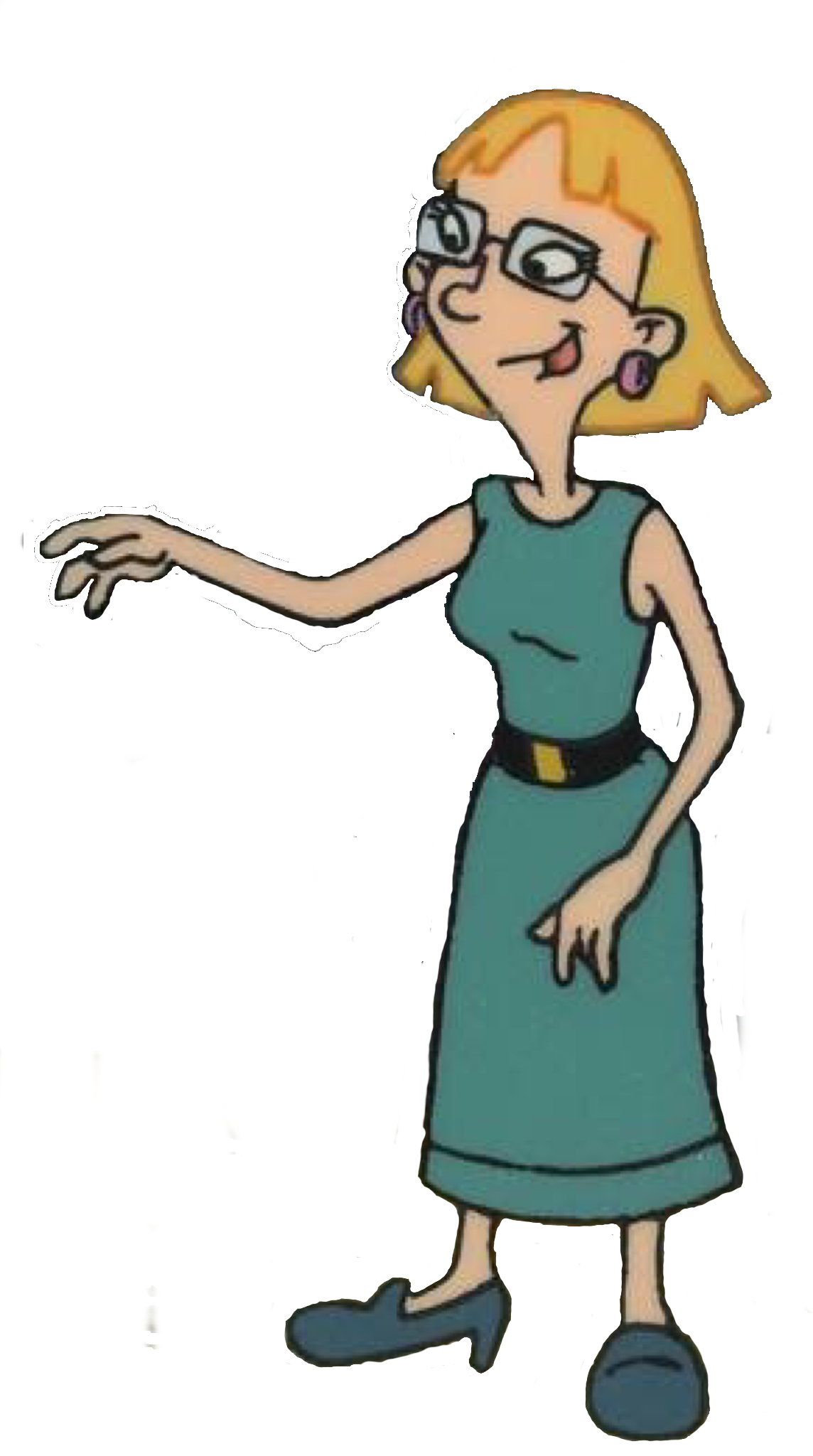 Miriam pataki hey arnold. Singer clipart badly