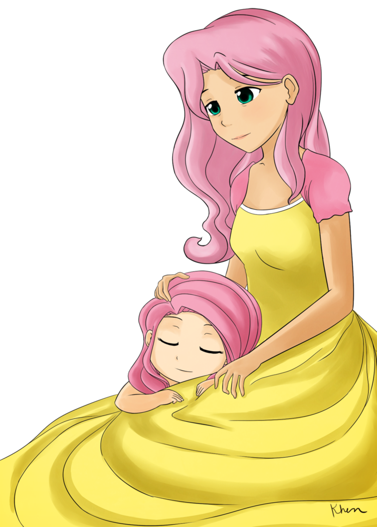 Mother clipart motherly. Fluttershy and her mom