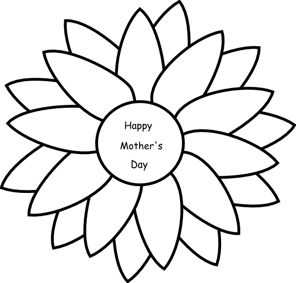 Mother clipart mothers day flower. Clip art at clker