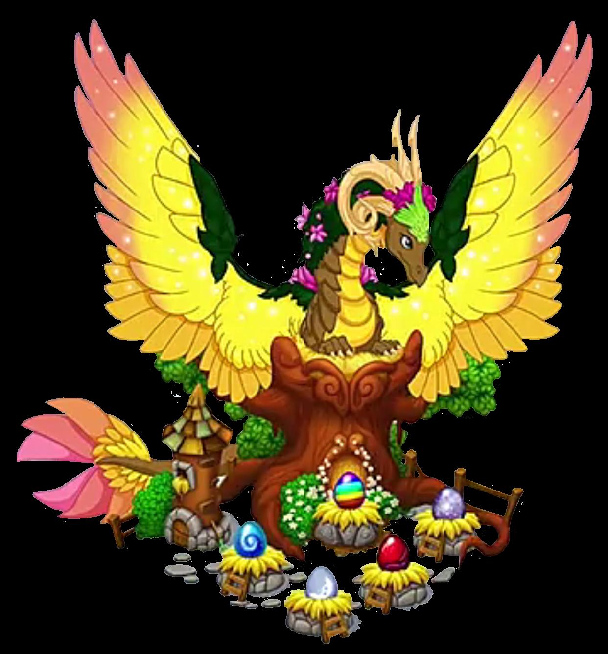 Mother clipart nurturing. Gaia dragonvale world wikia