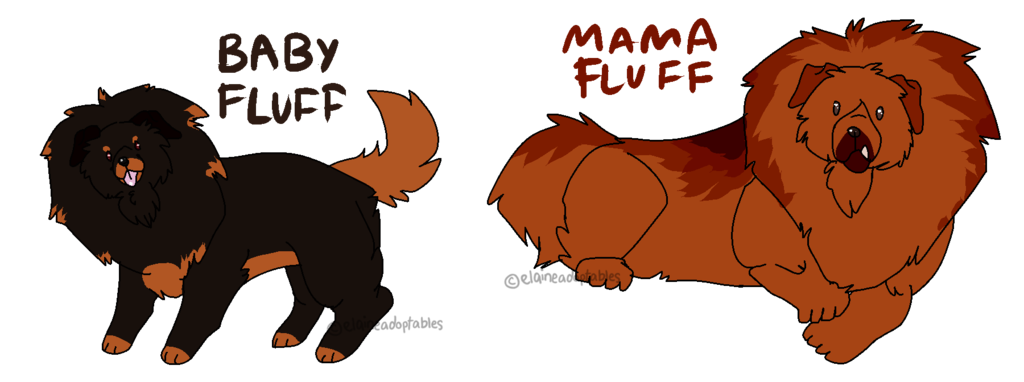 mother clipart pup