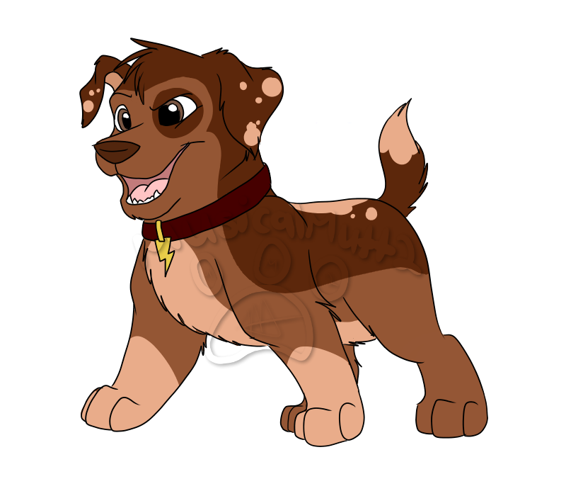Once in a lifetime. Mother clipart pup