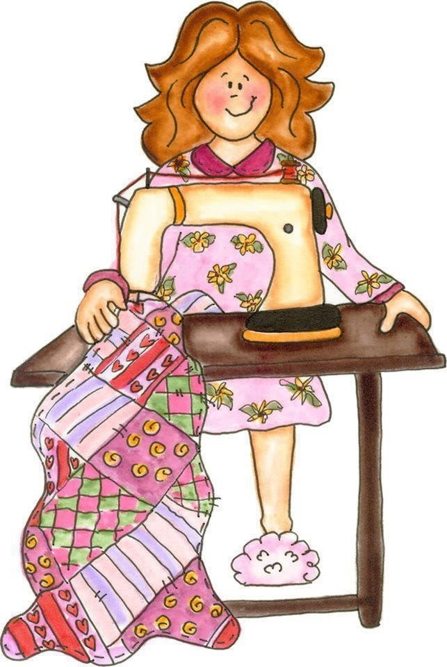 Quilting clipart sewing class. Cartoon clip art library
