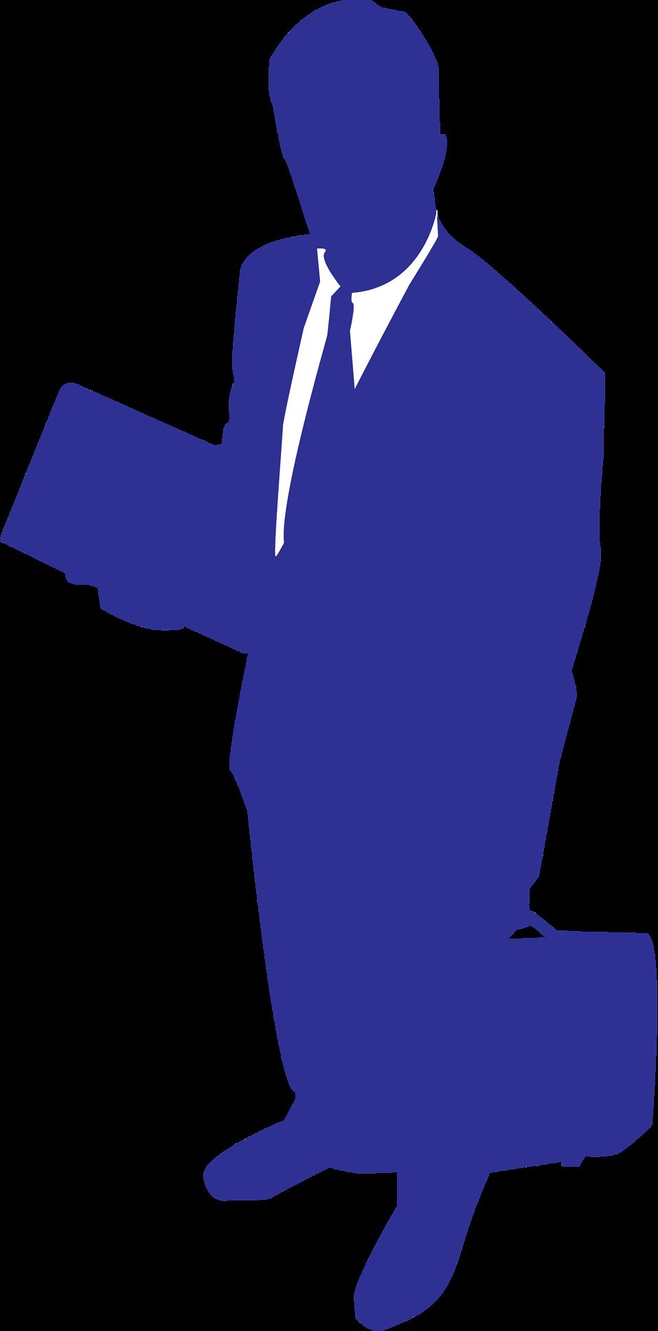 Illustration of a man. Motivation clipart business