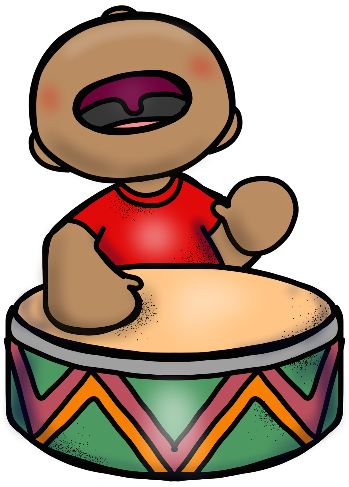 Harmony in the hood. Music clipart teacher