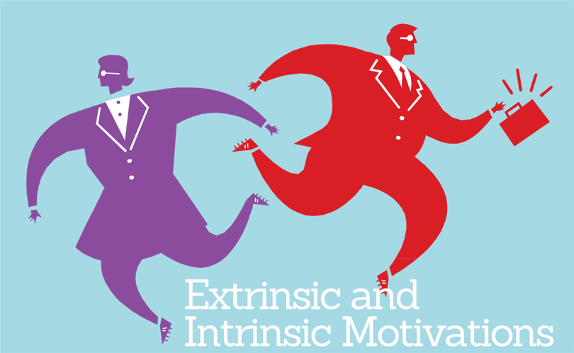 Motivation clipart extrinsic. Differences between and intrinsic