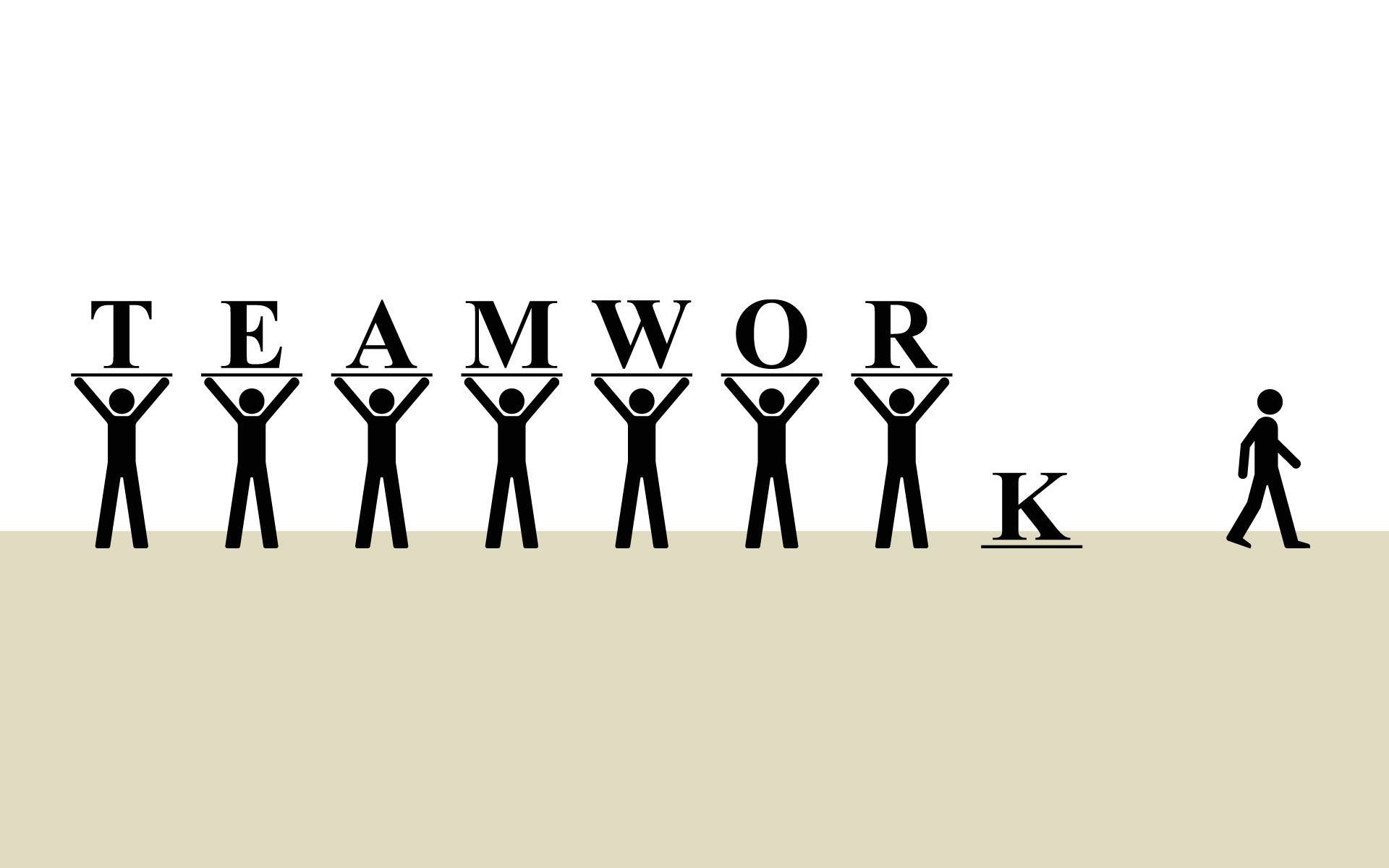 Free inspirational teamwork cliparts. Motivation clipart team player