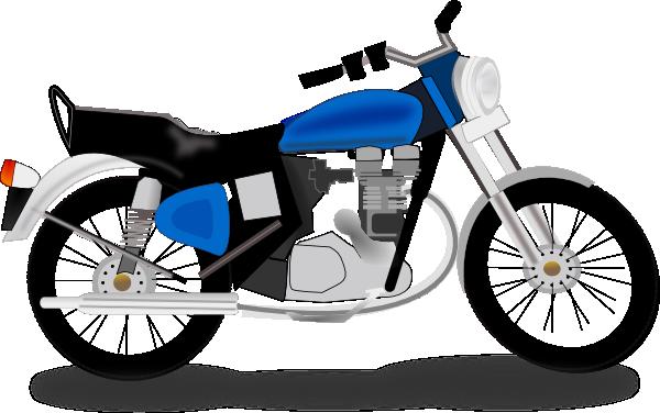 Motorcycle clipart. Honda