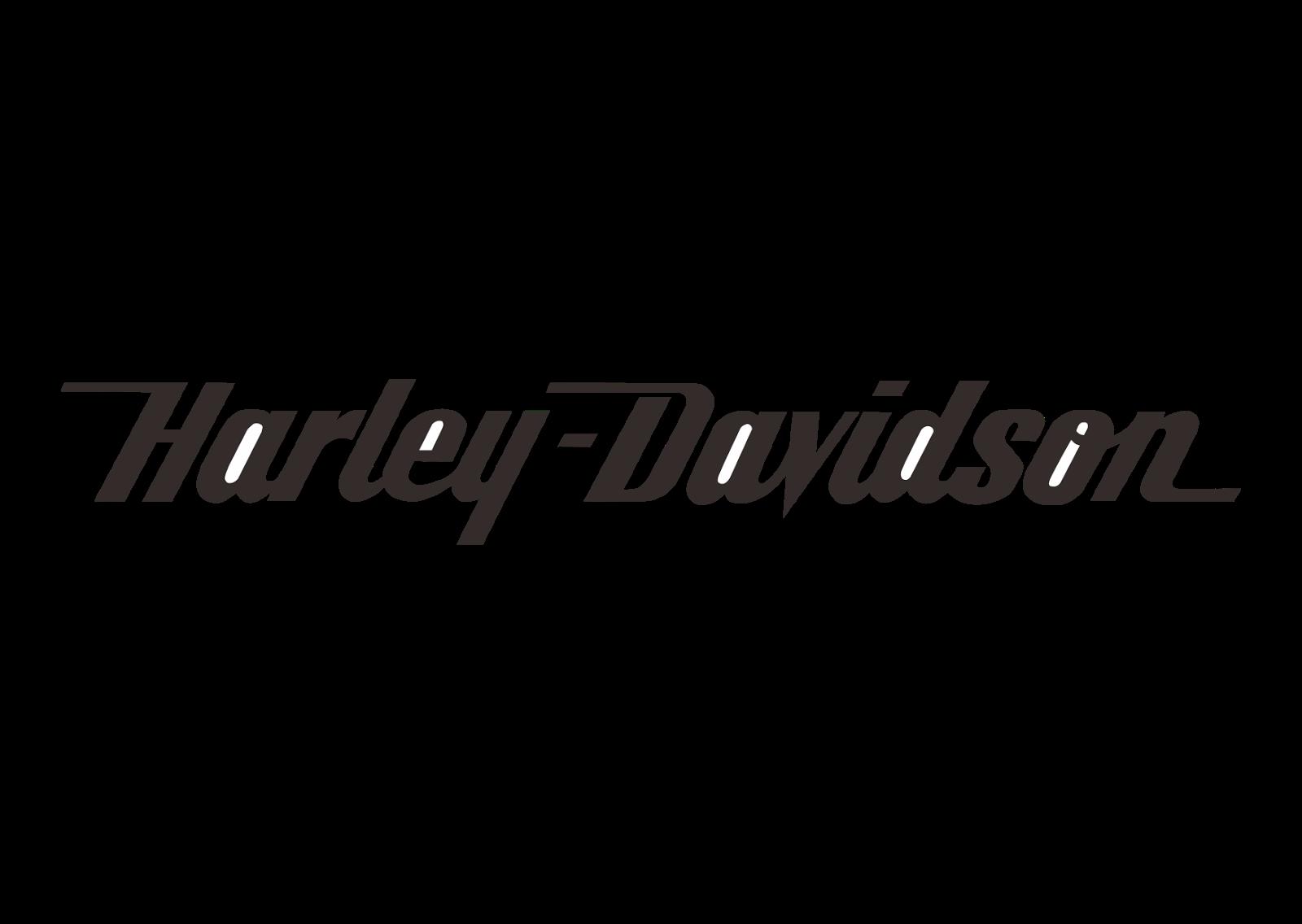 Harley davidson logo black. Motorcycle clipart back