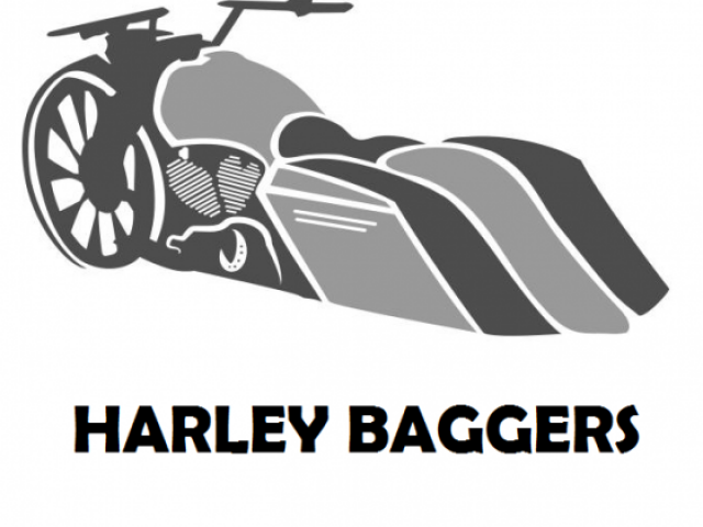 Stmotorxstyle org . Motorcycle clipart bagger