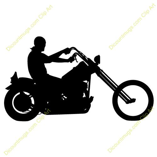 Motorcycle clipart batman. Chopper rider panda free