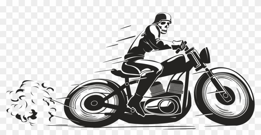 Motorcycle clipart biker. Delivery png transparent
