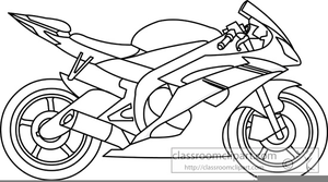 Motorbike free images at. Motorcycle clipart black and white