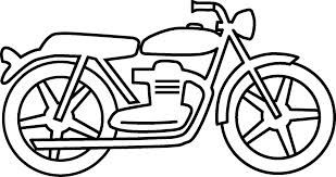 Google search stuff . Motorcycle clipart black and white