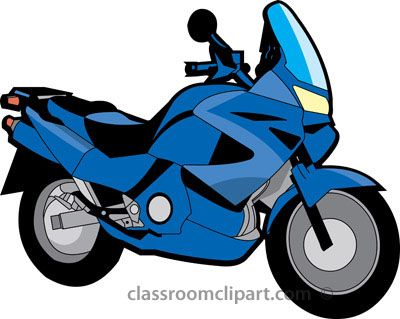 Clip art photos panda. Motorcycle clipart blue motorcycle