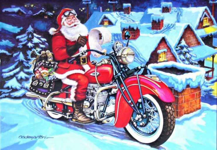 Free cliparts download clip. Motorcycle clipart christmas