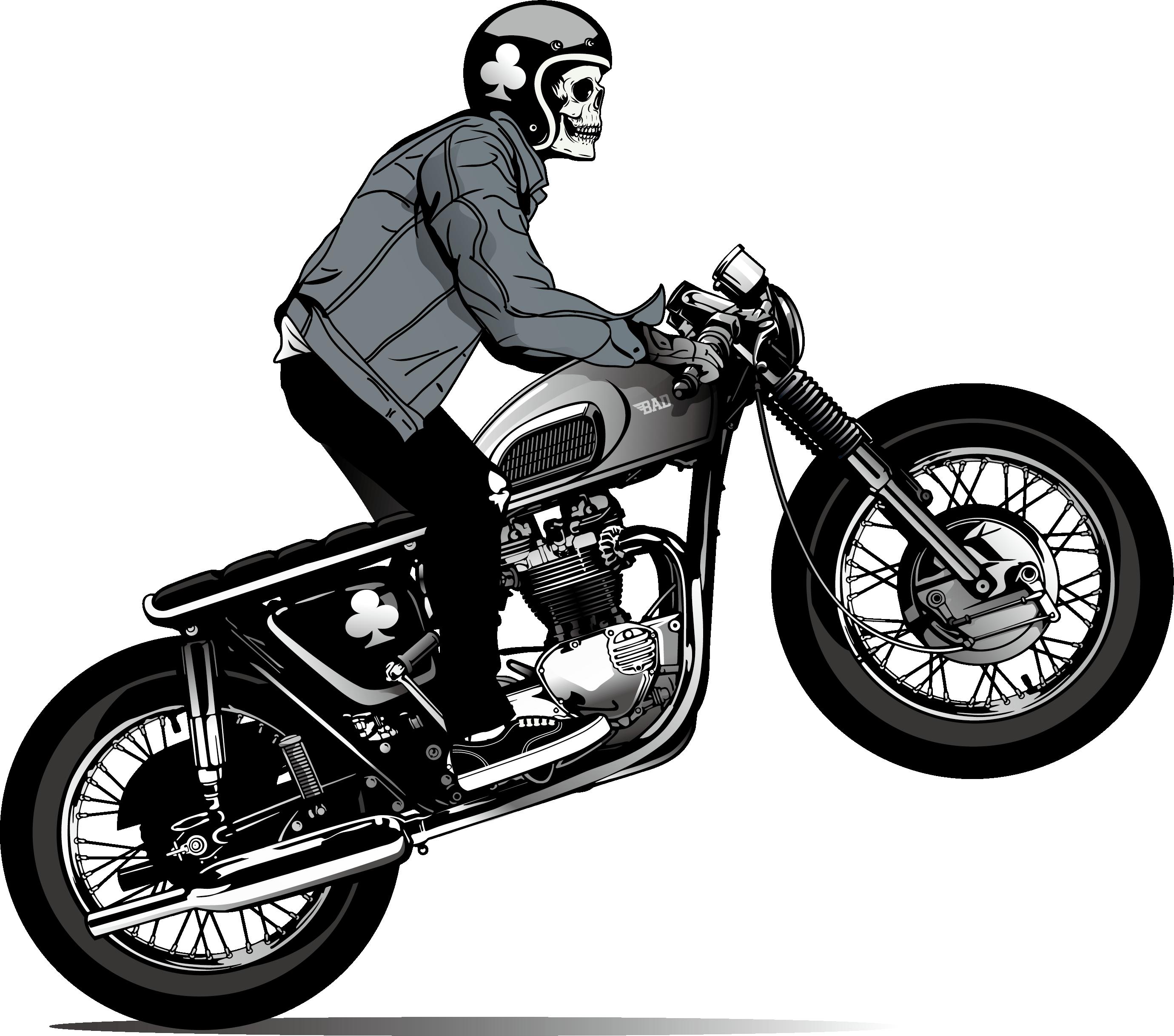 Helmet skull png download. Motorcycle clipart cool motorcycle