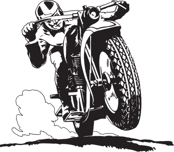 ra man racing. Motorcycle clipart craft