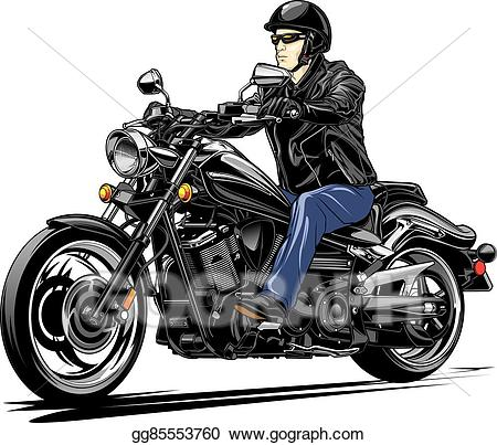 Vector stock v twin. Motorcycle clipart cruiser motorcycle