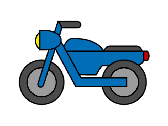 Free download clip art. Motorcycle clipart cute