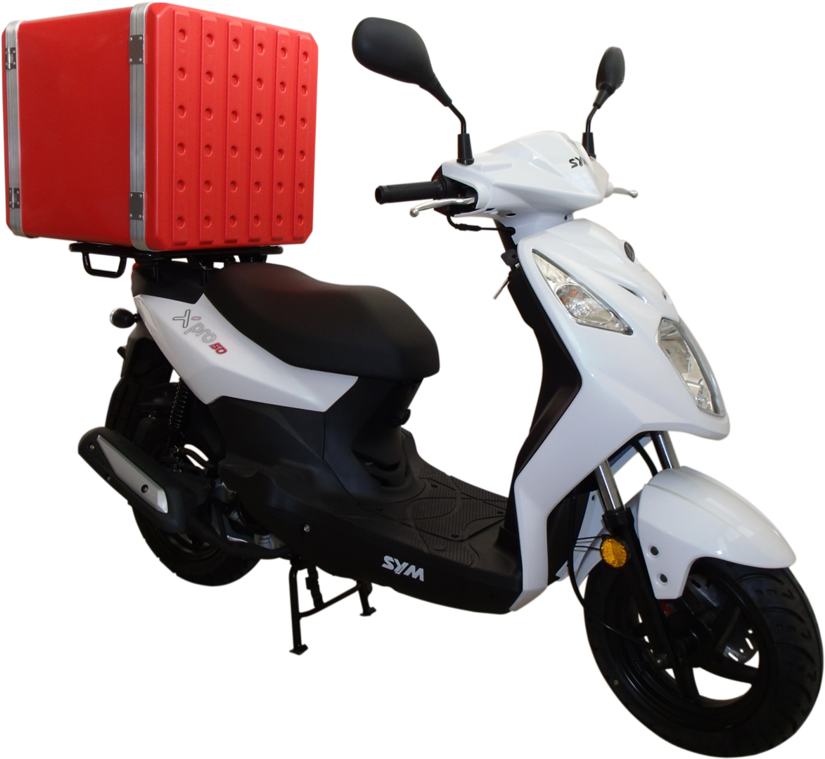 best motorcycle carrier. Scooter clipart delivery scooter