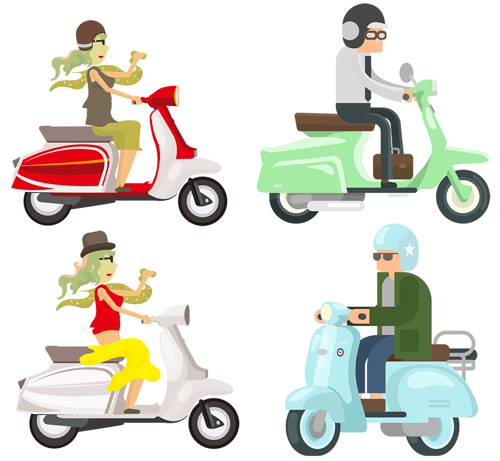 Motorcycle clipart delivery. Take out express ride