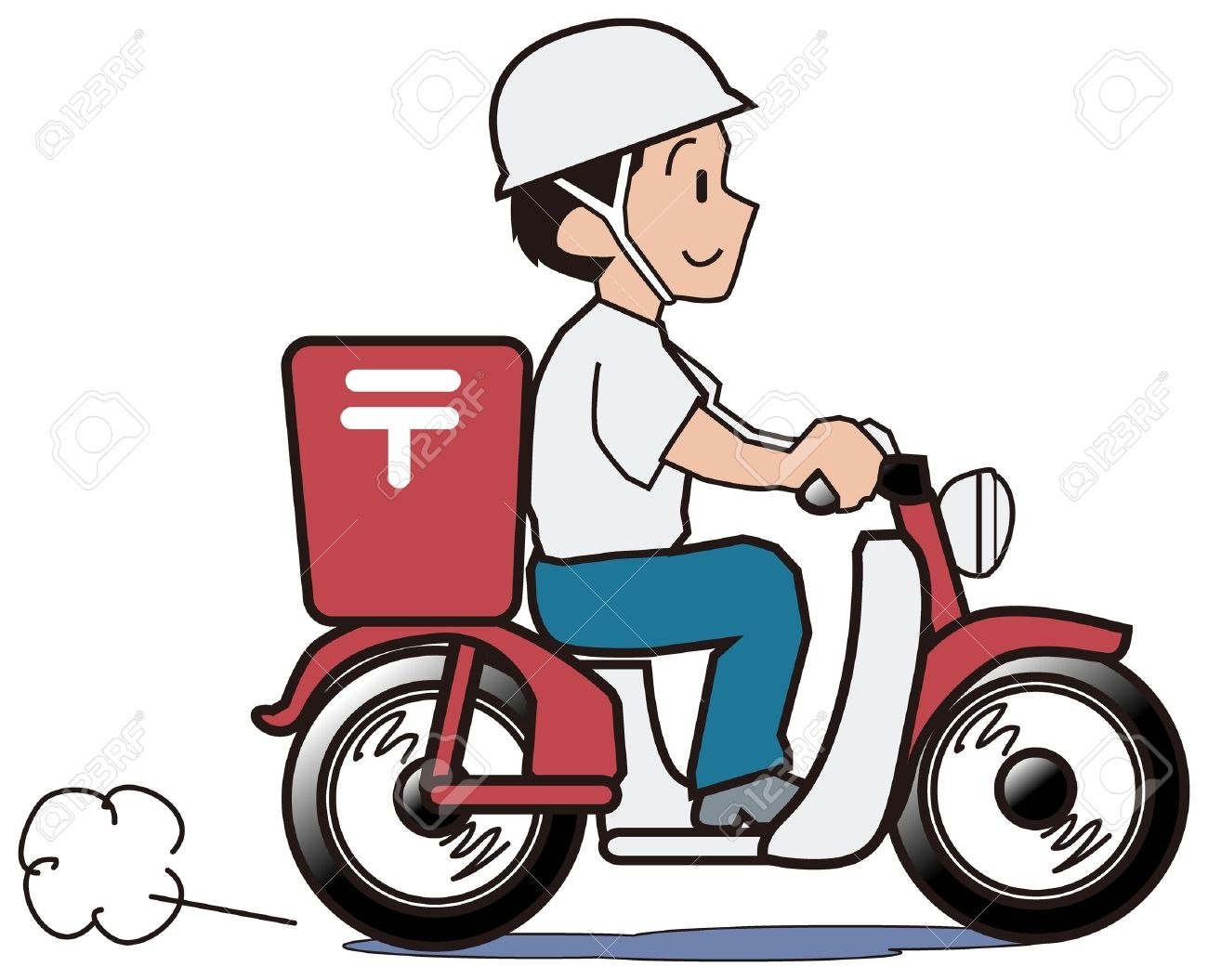 Riding free download best. Motorcycle clipart delivery