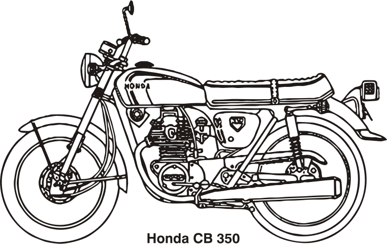 Motorcycle clipart gold wing.  collection of honda