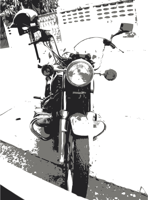 Motorcycle clipart gold wing. Png cool black harley