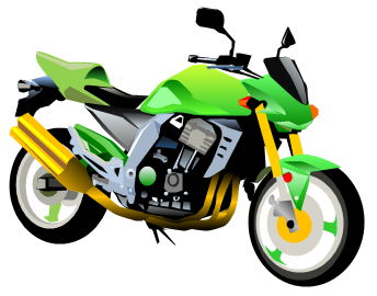 Free download clip art. Motorcycle clipart green motorcycle