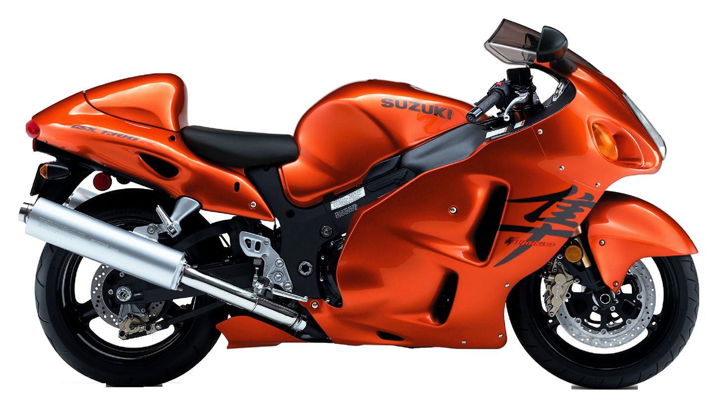 Motorcycle clipart hayabusa. Suzuki png image purepng