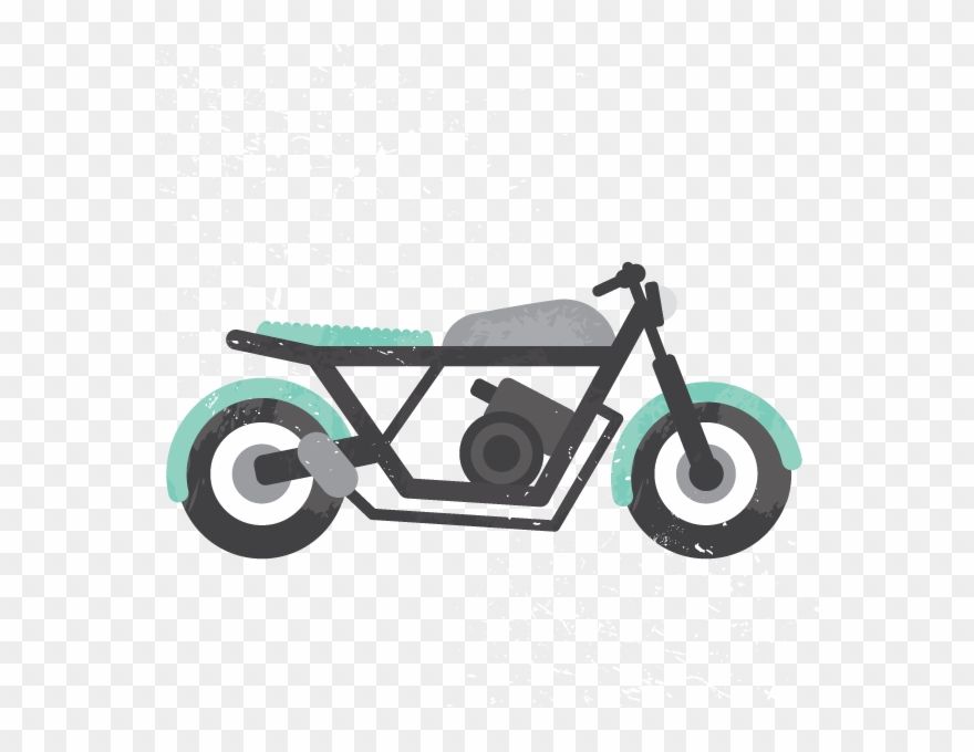 Dale . Motorcycle clipart illustration