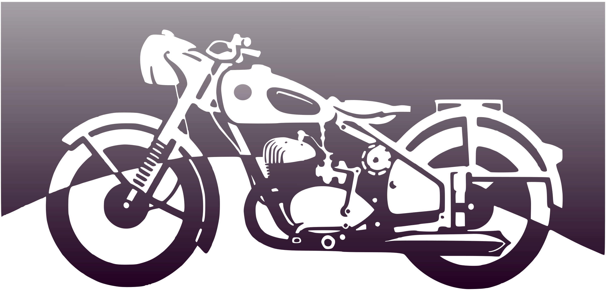 Motorcycle clipart motorbike. Of the ies big