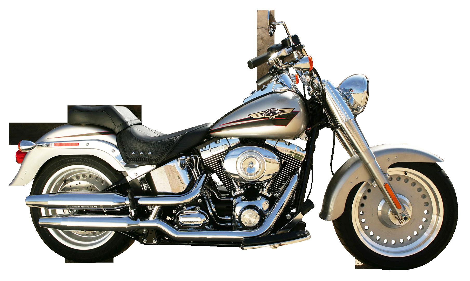 Motorcycle clipart motorbike. Harley davidson silver png