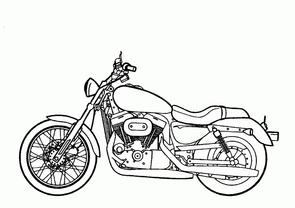 Black and white simple. Motorcycle clipart motorcycle drawing