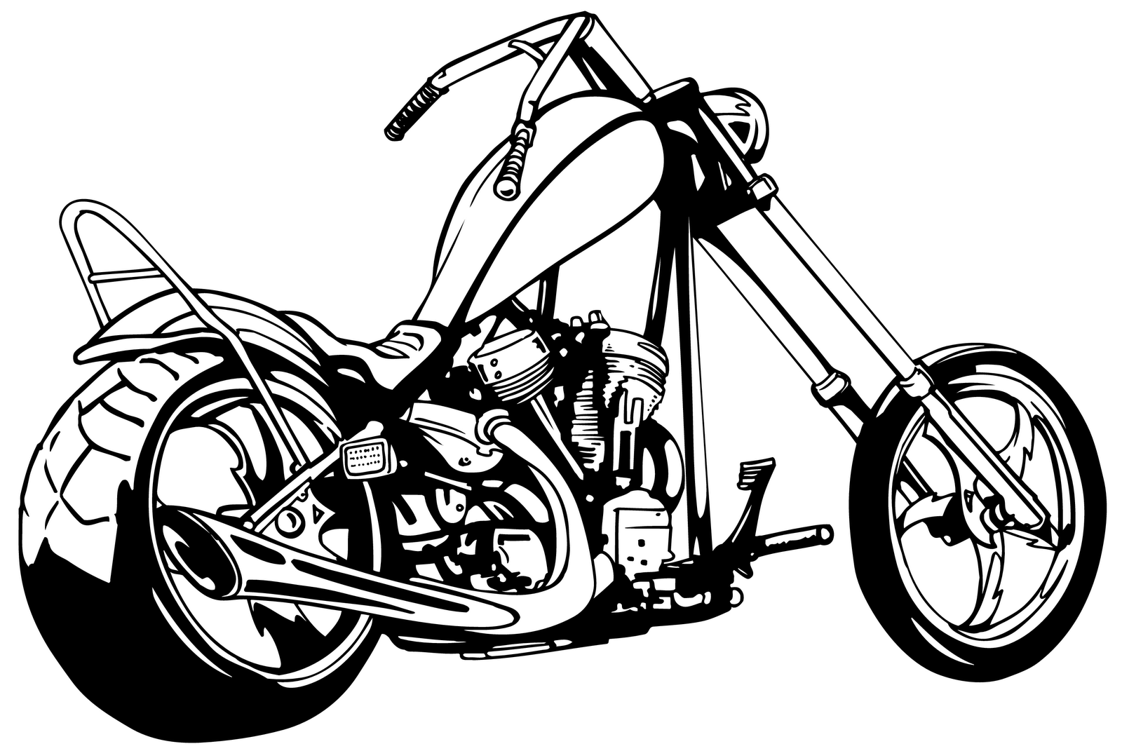 Free motorbike cliparts download. Motorcycle clipart motorcycle drawing