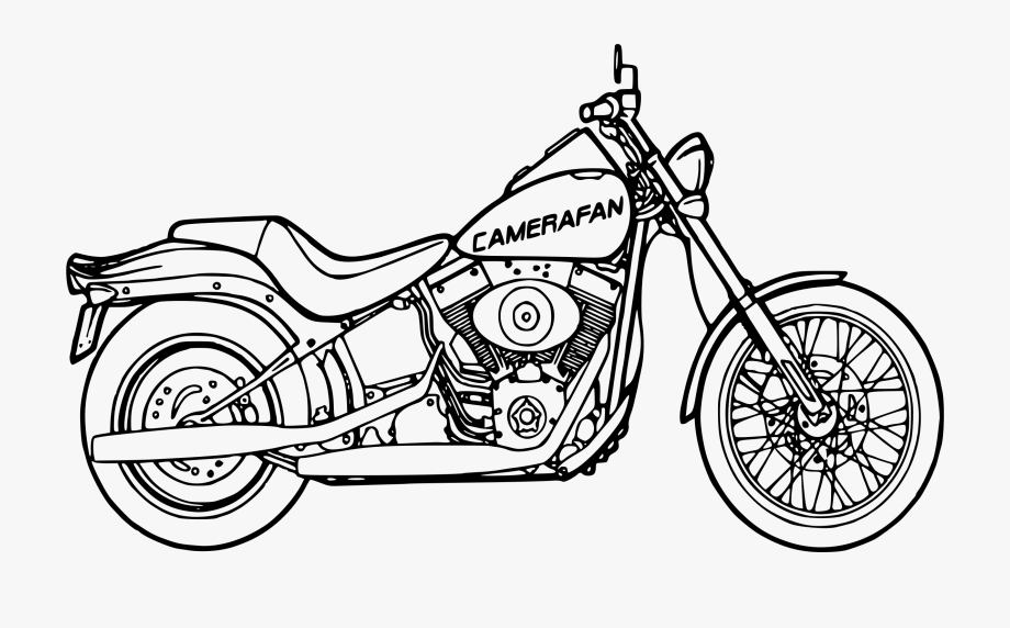 Motorcycle clipart motorcycle drawing. Kid transparent png free