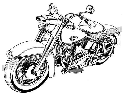 Motorcycle clipart motorcycle harley davidson.  clipartlook