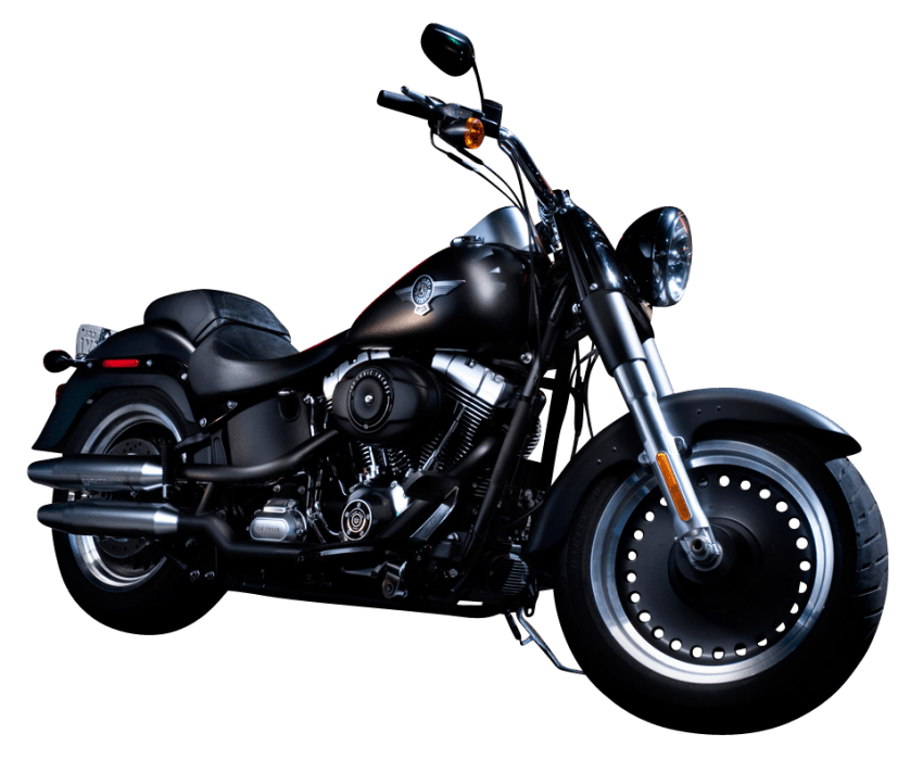 Motorcycle clipart motorcycle harley davidson. Black color bike png