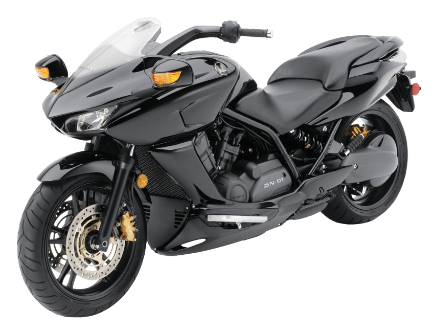Motorcycle clipart motorcycle honda. Black dn bike png