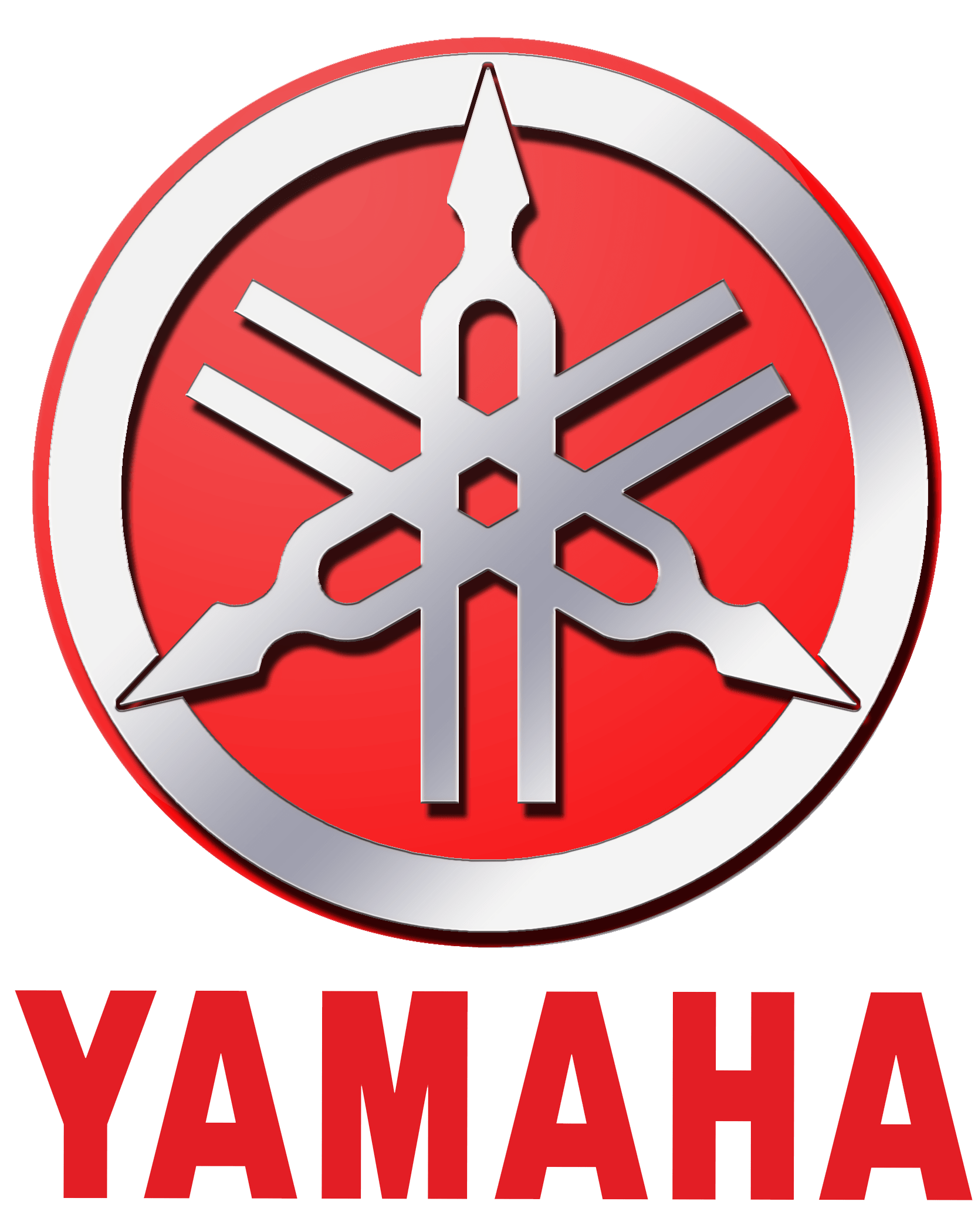 Motorcycle clipart motorcycle repair. Yamaha logo red rock