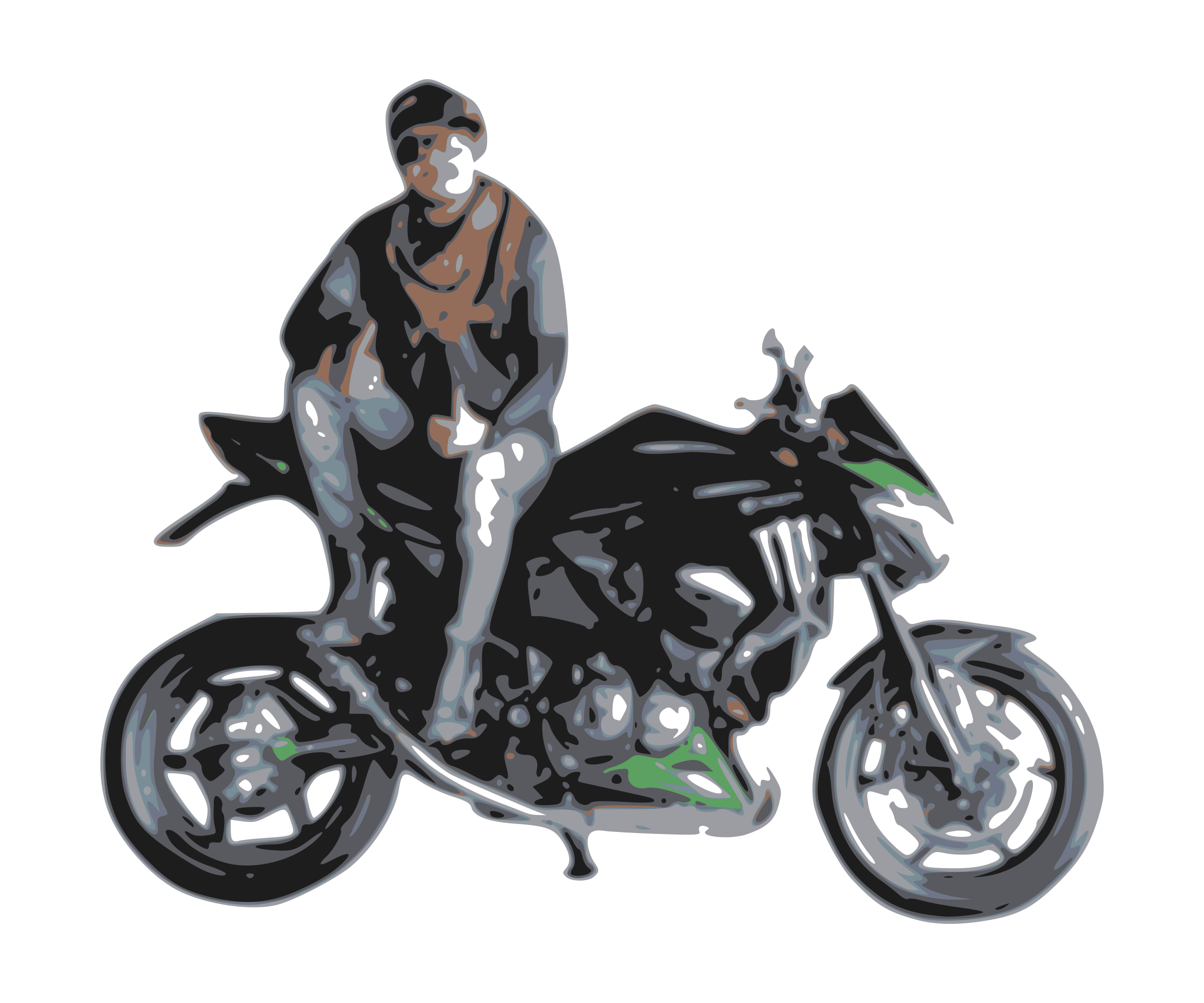 Motorcycle clipart motorcycle rider. With big image png