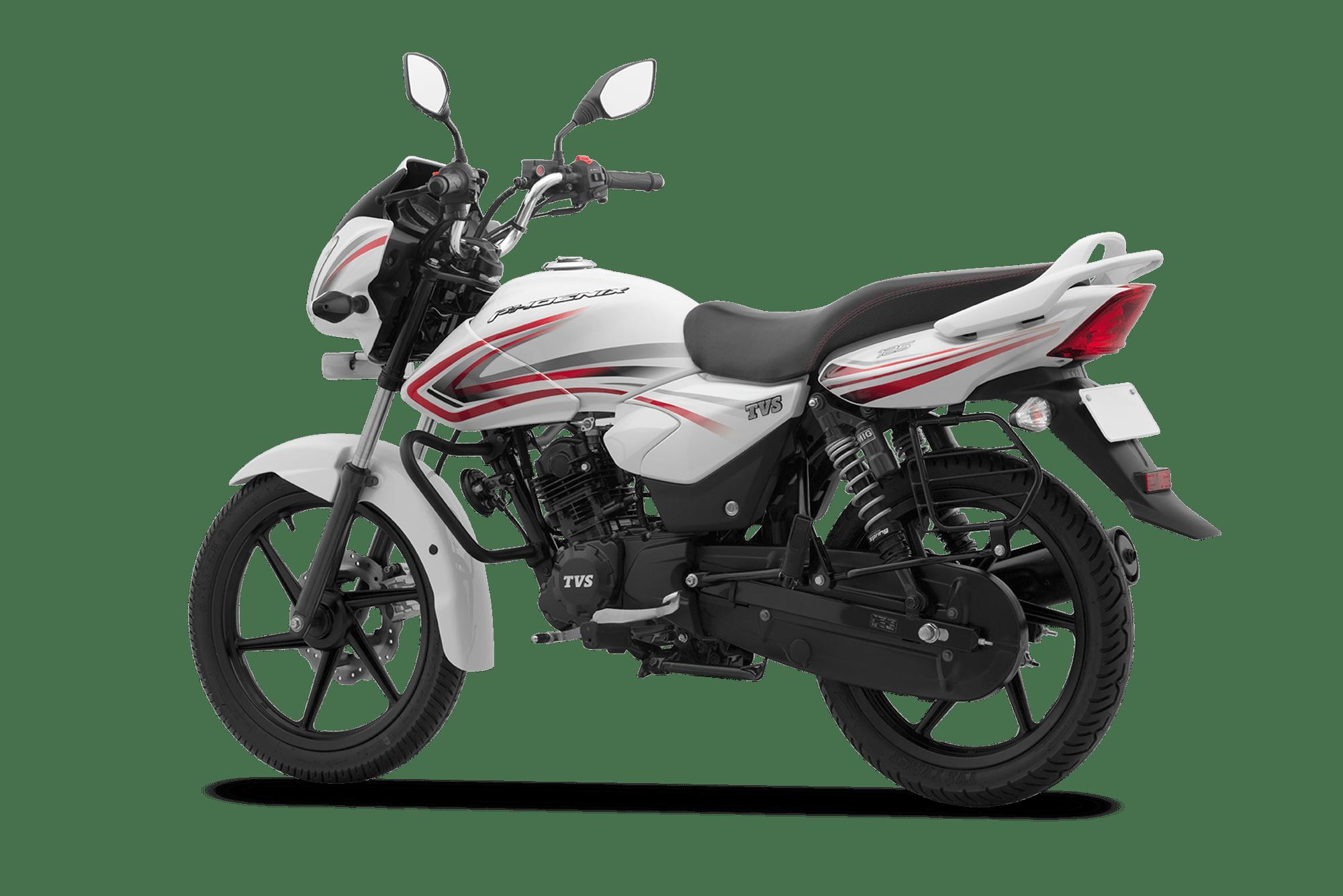 Motorcycle clipart pineapple. Tvs phoenix mileage bike