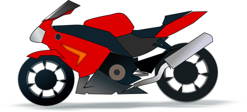Free to use clip. Motorcycle clipart public domain