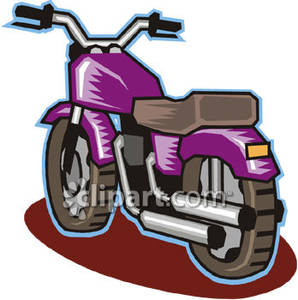 Motorcycle clipart purple motorcycle. Small royalty free picture