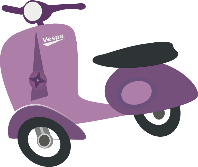 Motorcycle clipart purple motorcycle. Pink background scooter