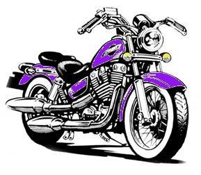 Free cliparts harley davidson. Motorcycle clipart purple motorcycle
