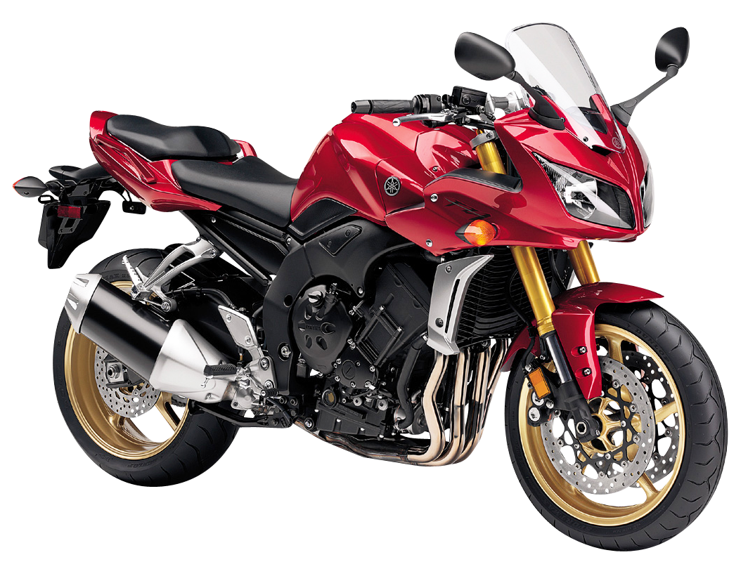Yamaha png images pngpix. Motorcycle clipart red motorcycle