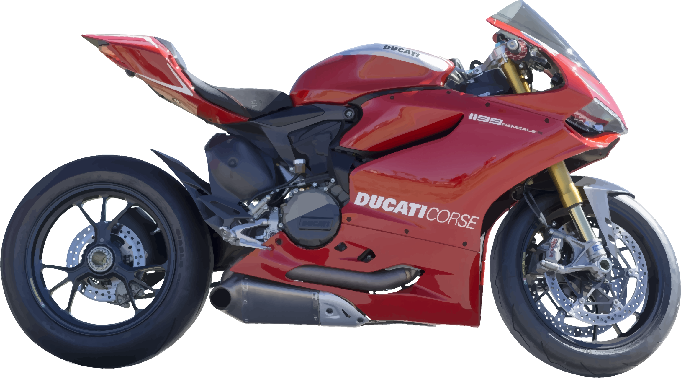 Motorcycle clipart red motorcycle. Icons png free and